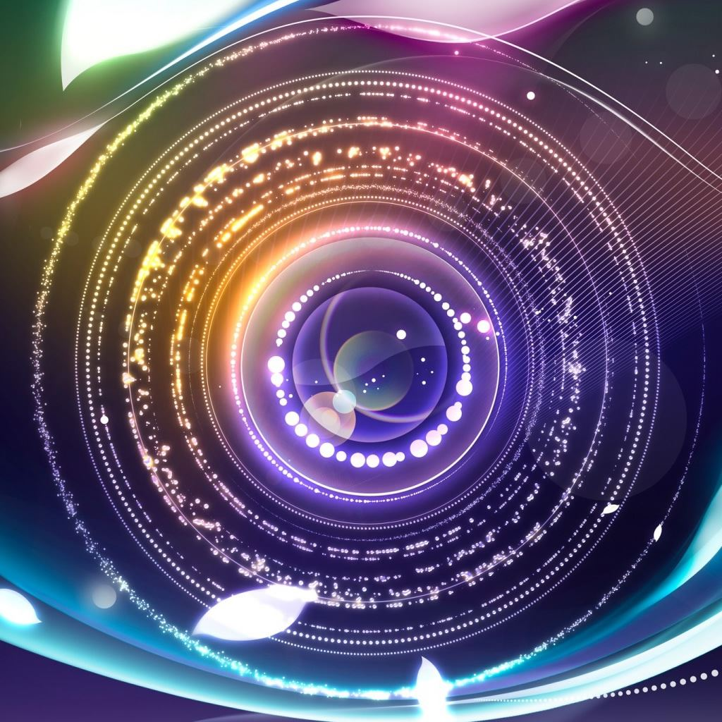 Digital Abstract Eye 2 IPad Wallpapers Free Download