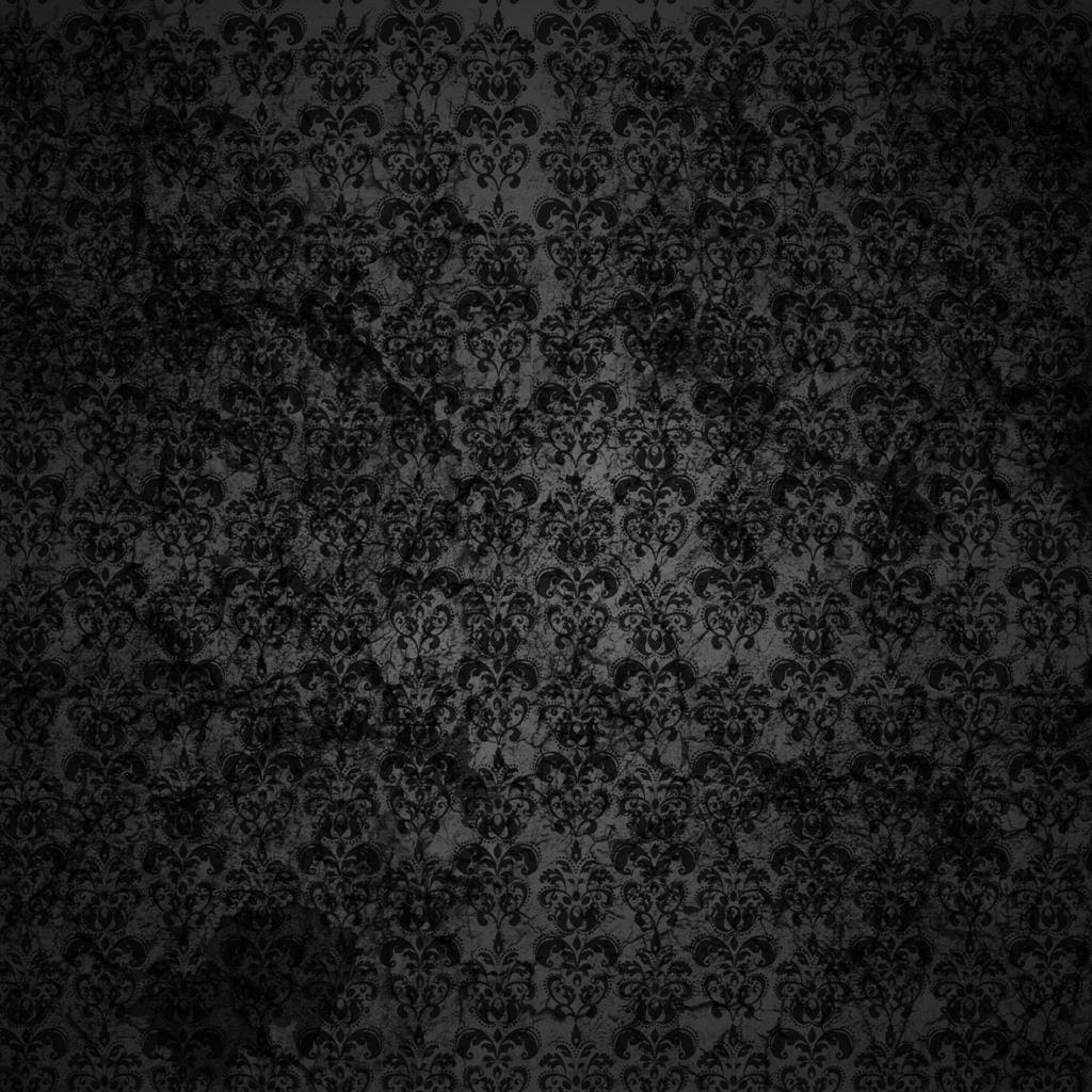 Black Floral Grunge Ipad Wallpapers Free Download