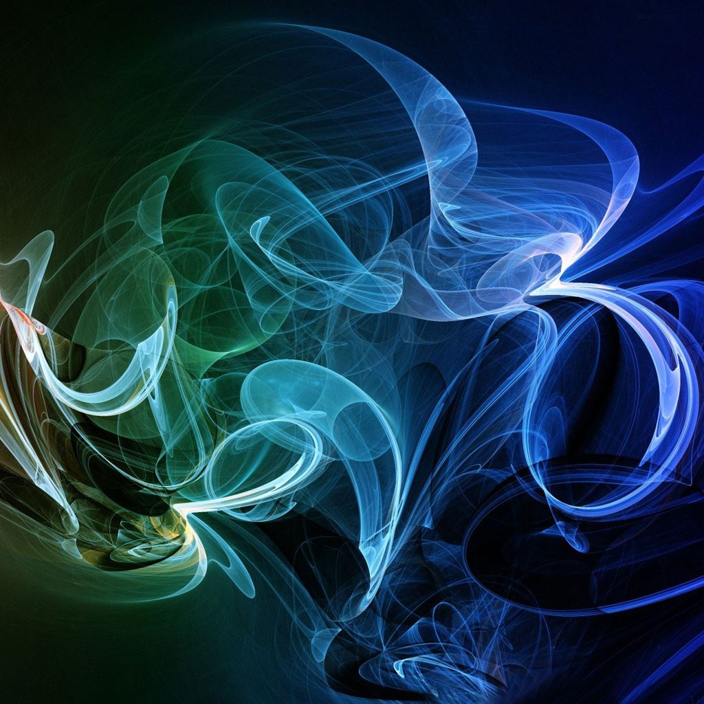 Rainbow Smoke Abstract IPad Wallpapers Free Download