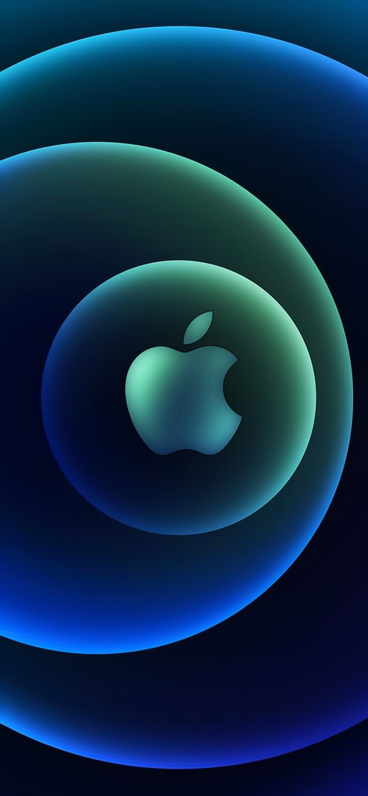 Apple Event 13 Oct Logo Dark by AR7 iPhone 11 Wallpapers ...
