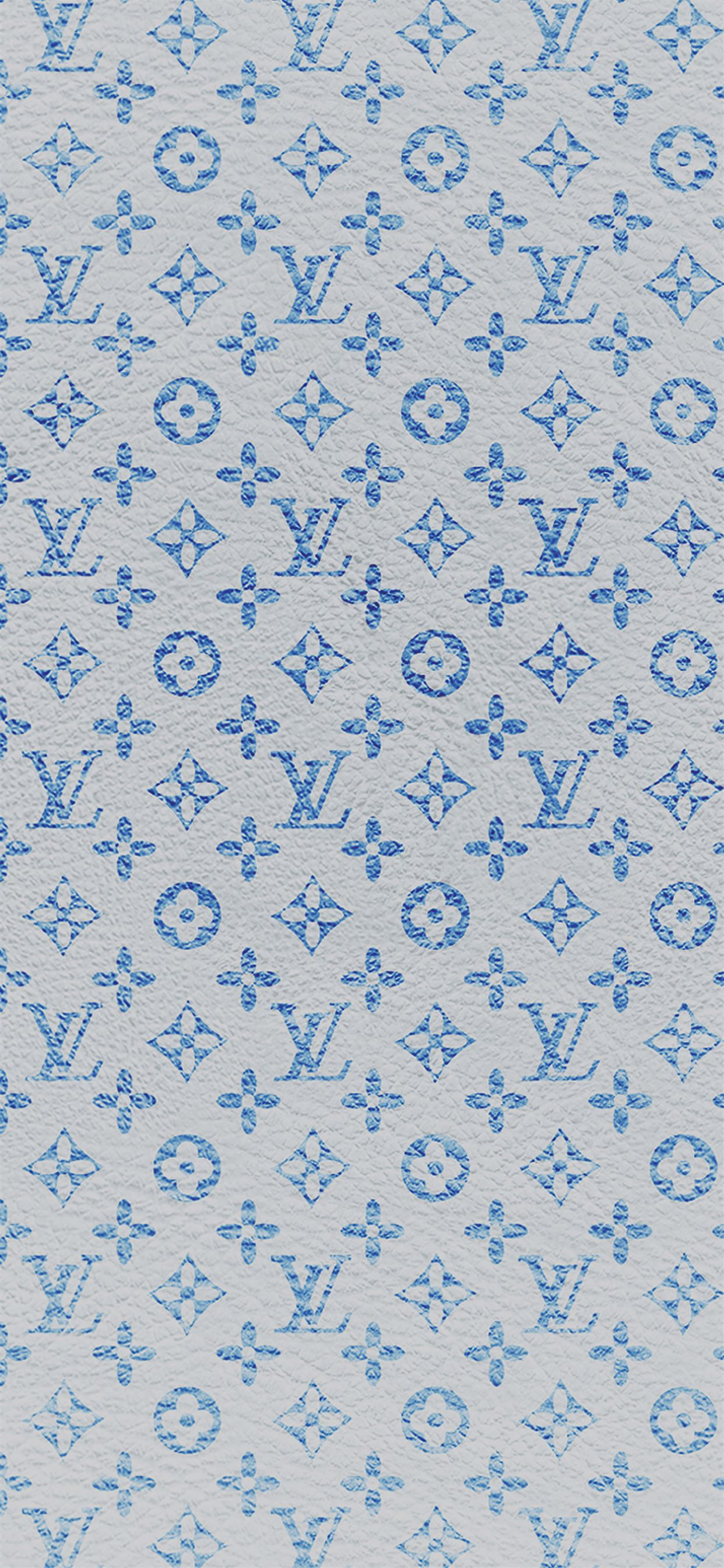 Louis Vuitton Blue Pattern Art Iphone 11 Wallpapers Free Download