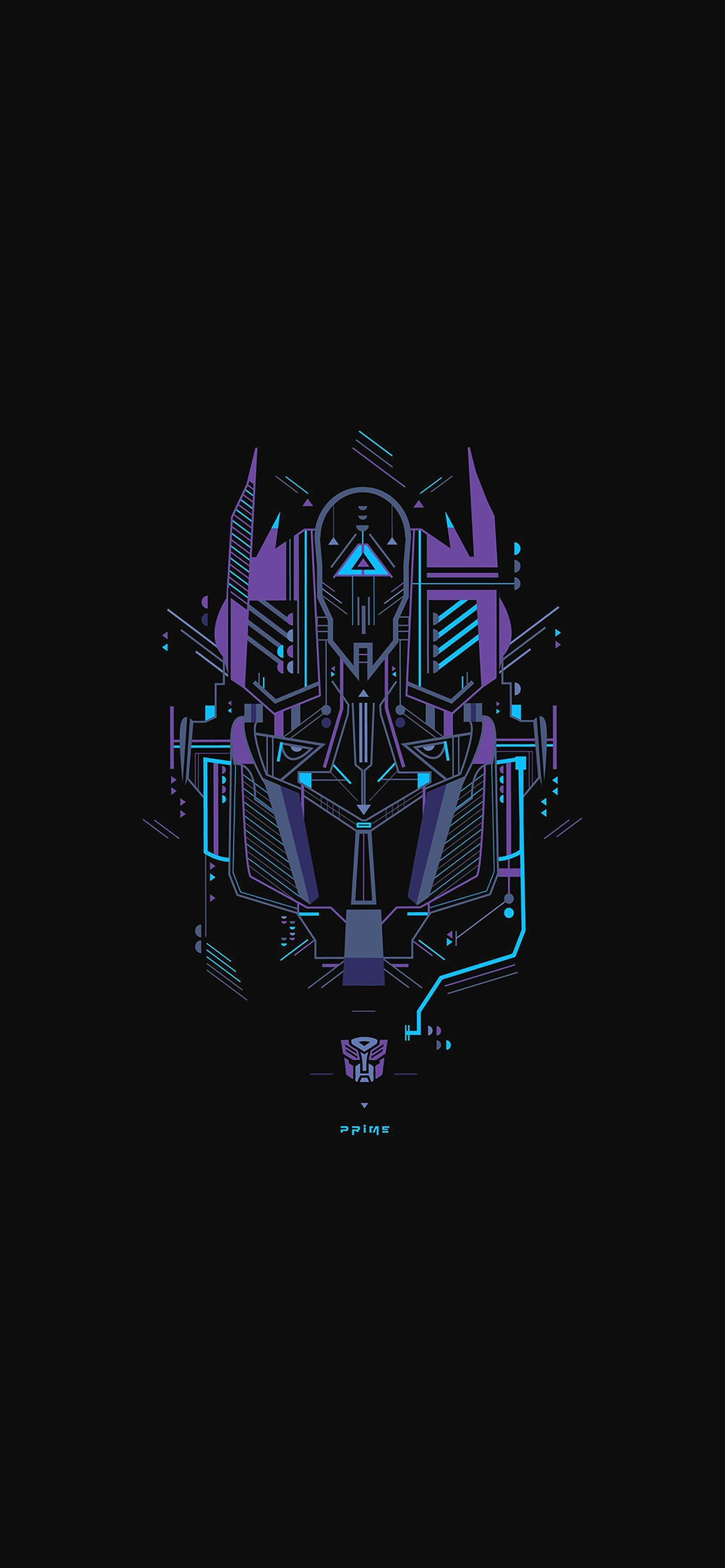 Transformer Logo Two Art Illust Iphone 11 Wallpapers Free Download