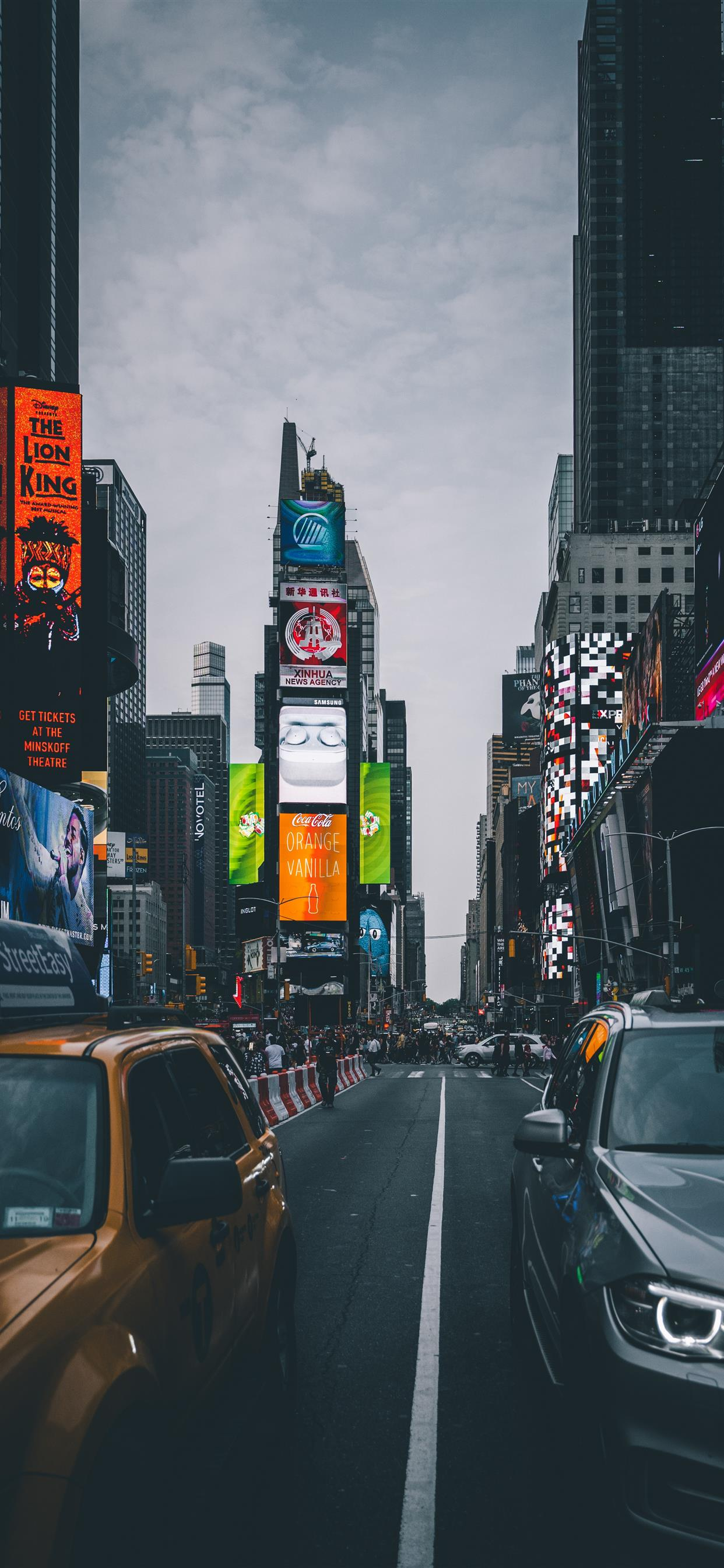Times Square New York United States Iphone 11 Wallpapers Free Download