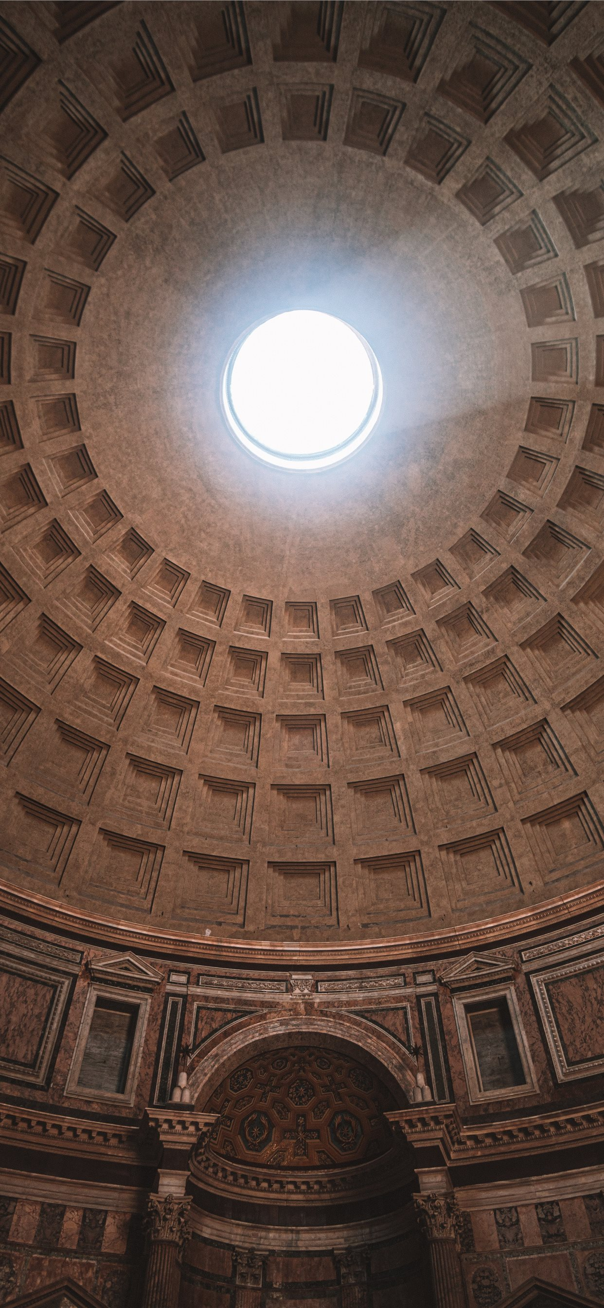 Inside Pantheon Temple In Rome Italy Iphone 11 Wallpapers Free Download