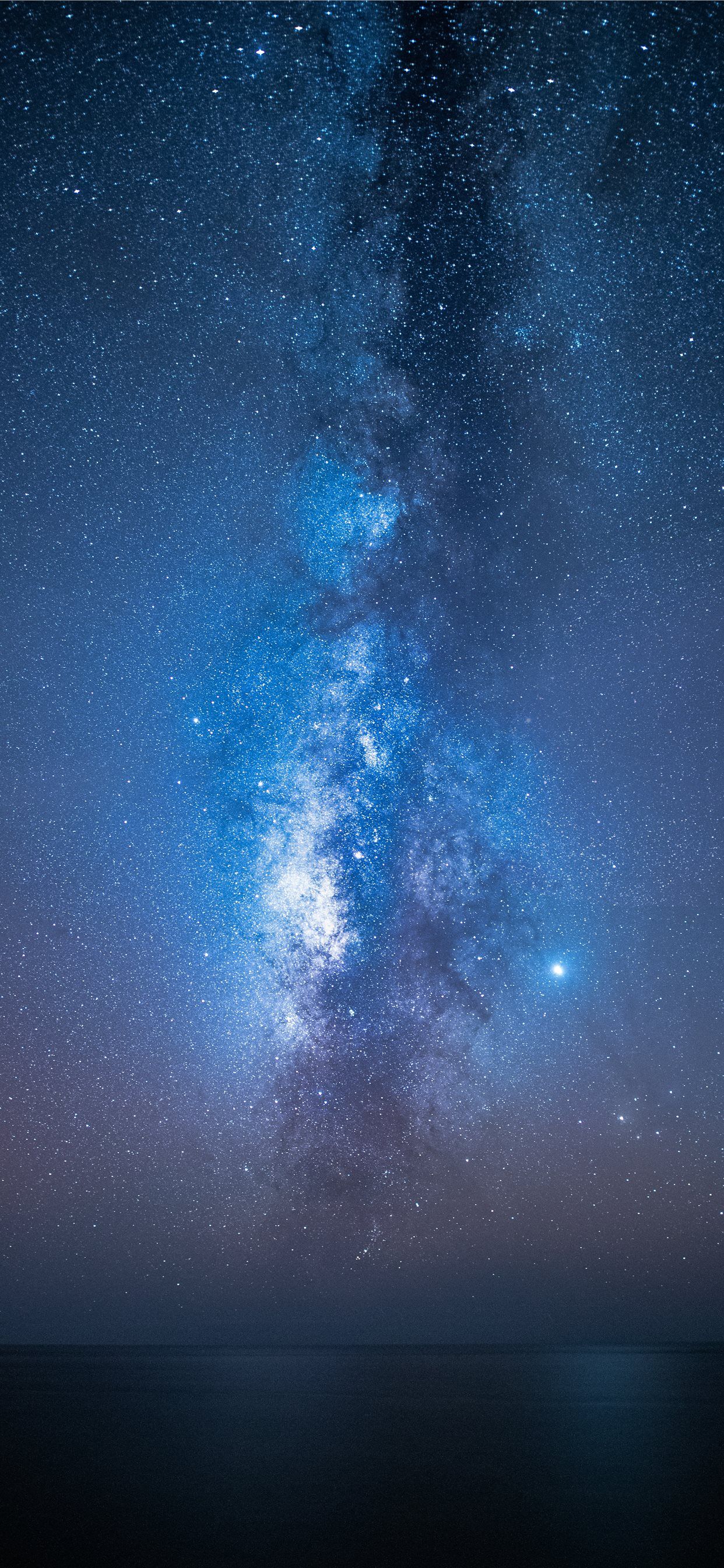 view of milkyway iphone 11 pro max wallpaper