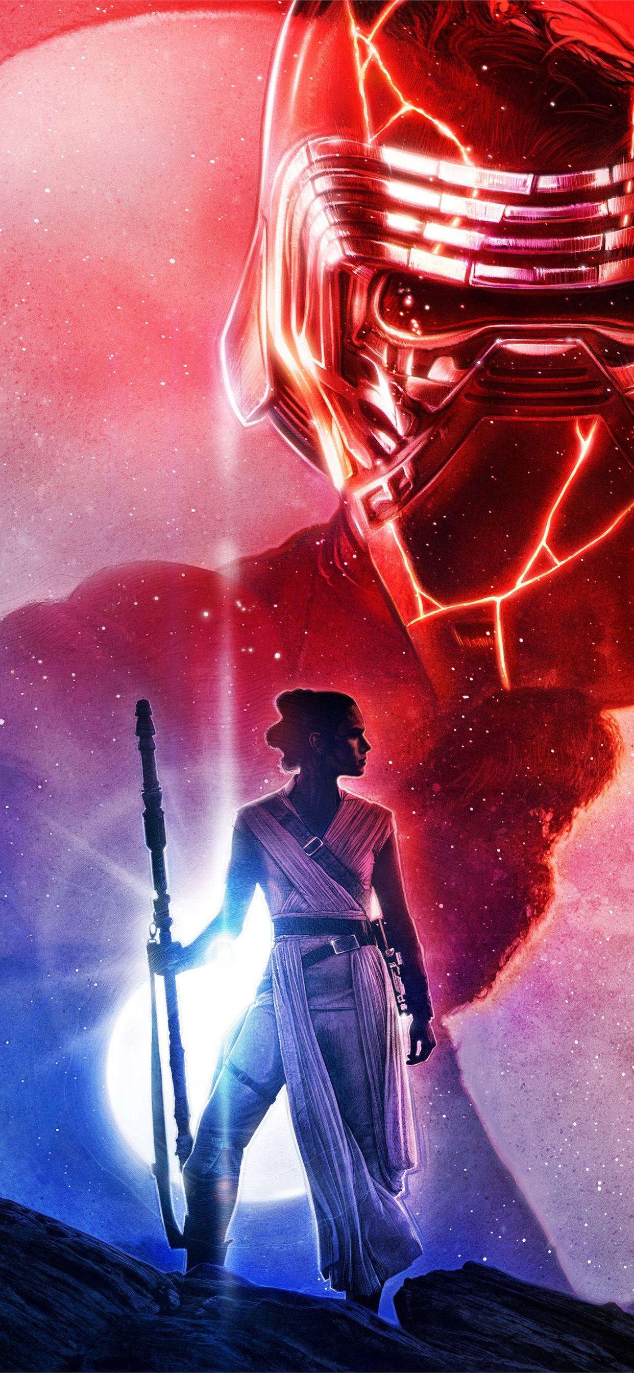 Star Wars The Last Jedi Art 5k Iphone 11 Wallpapers Free Download