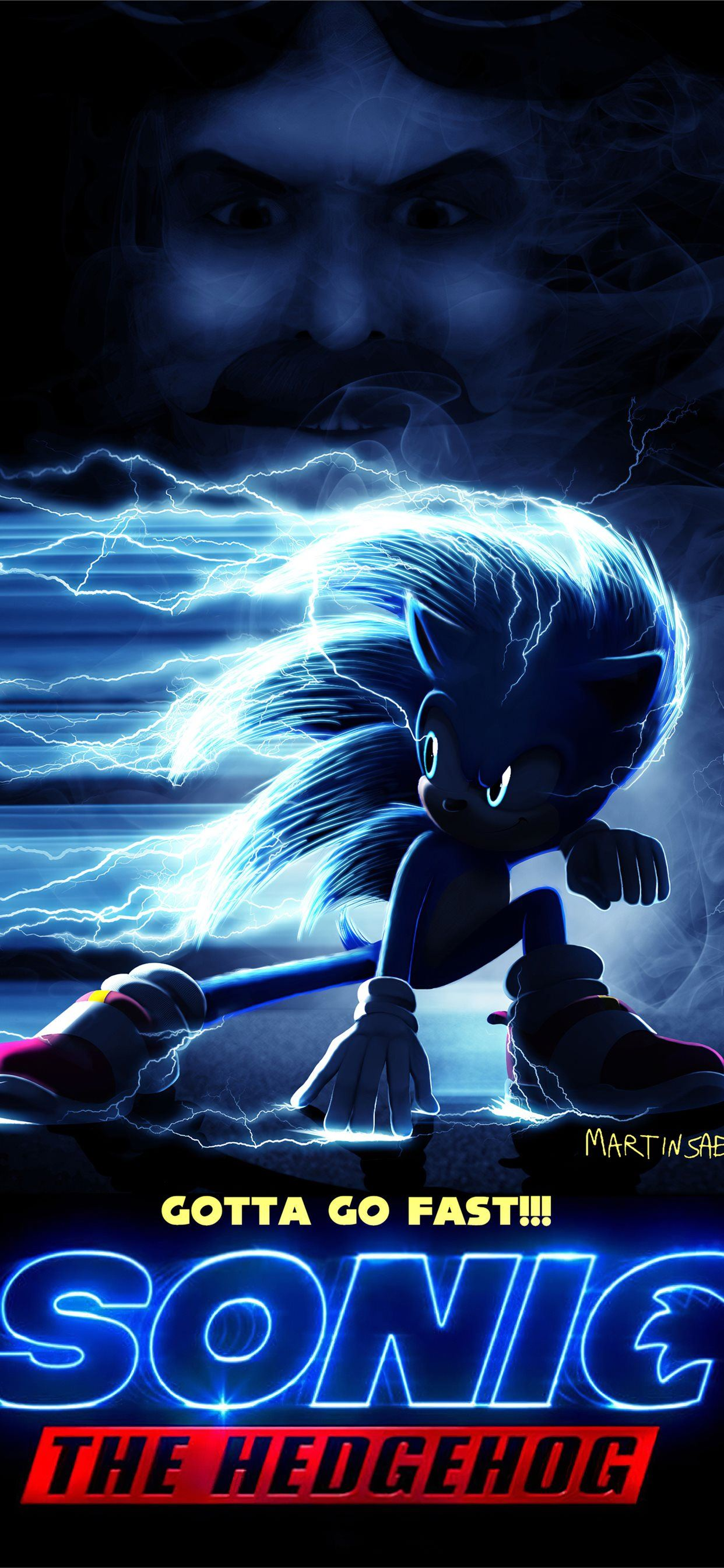 Sonic The Hedge Hog Movie 4k Iphone 11 Wallpapers Free Download
