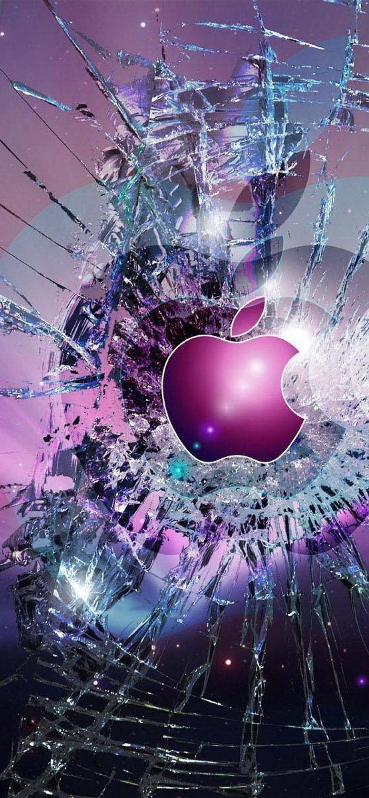 Cool Lock Screen Broken Glass Cool Lock Screen Iphone X Wallpapers Free Download