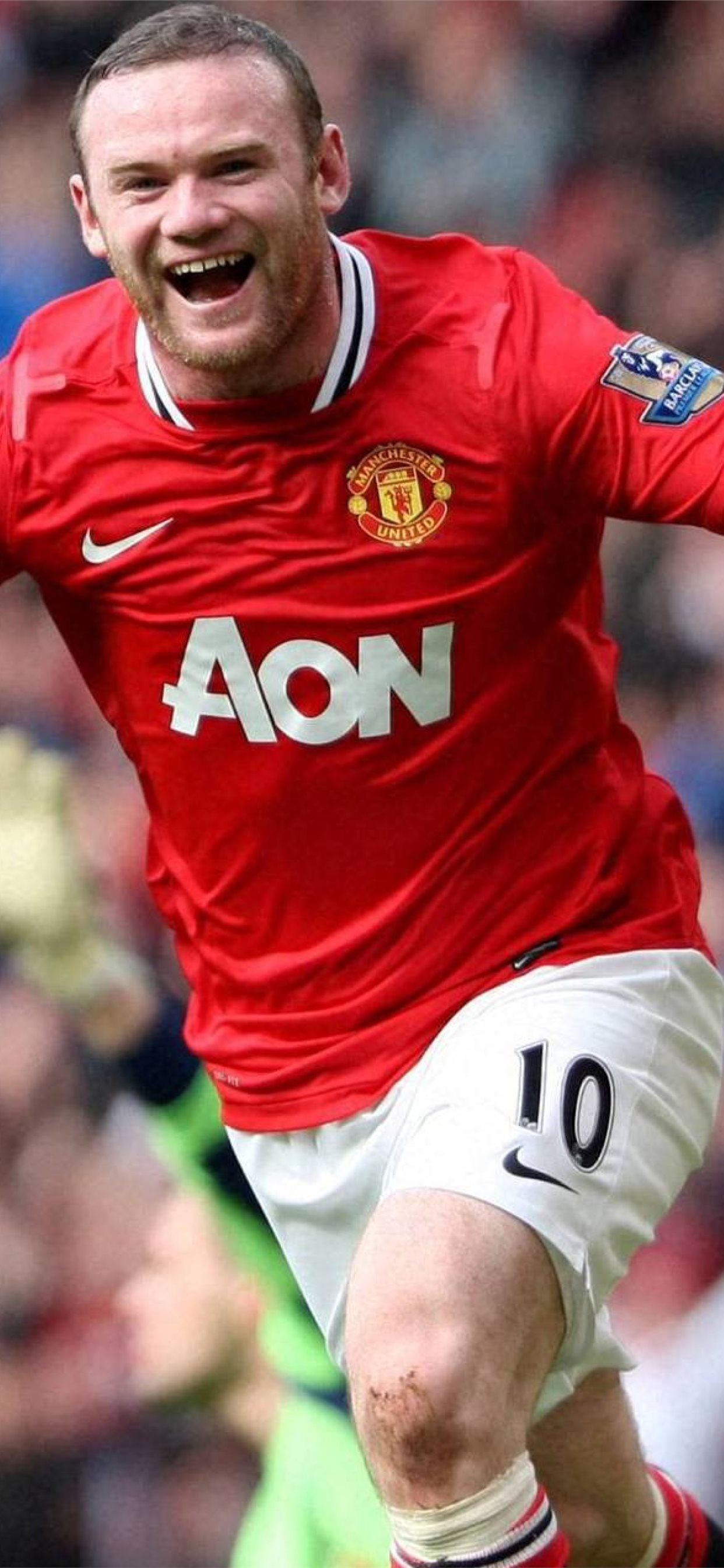 Wayne Rooney Manchester United Footballer Iphone 11 Wallpapers Free Download