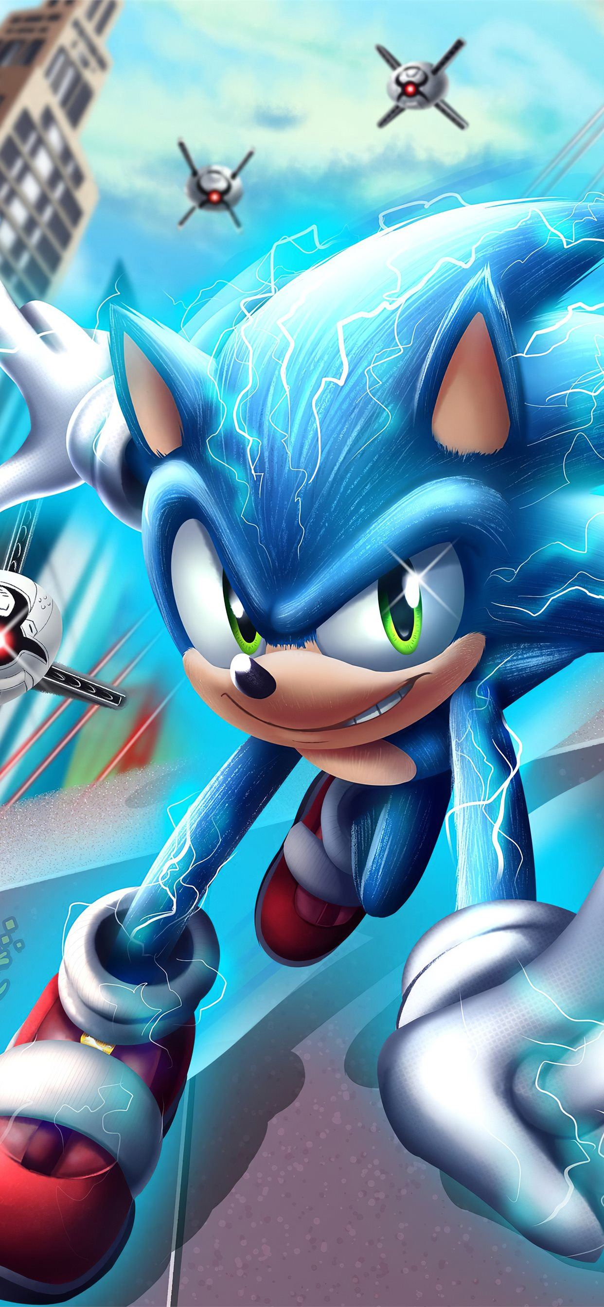 Sonic The Hedgehog 4k 2020 Iphone 11 Wallpapers Free Download