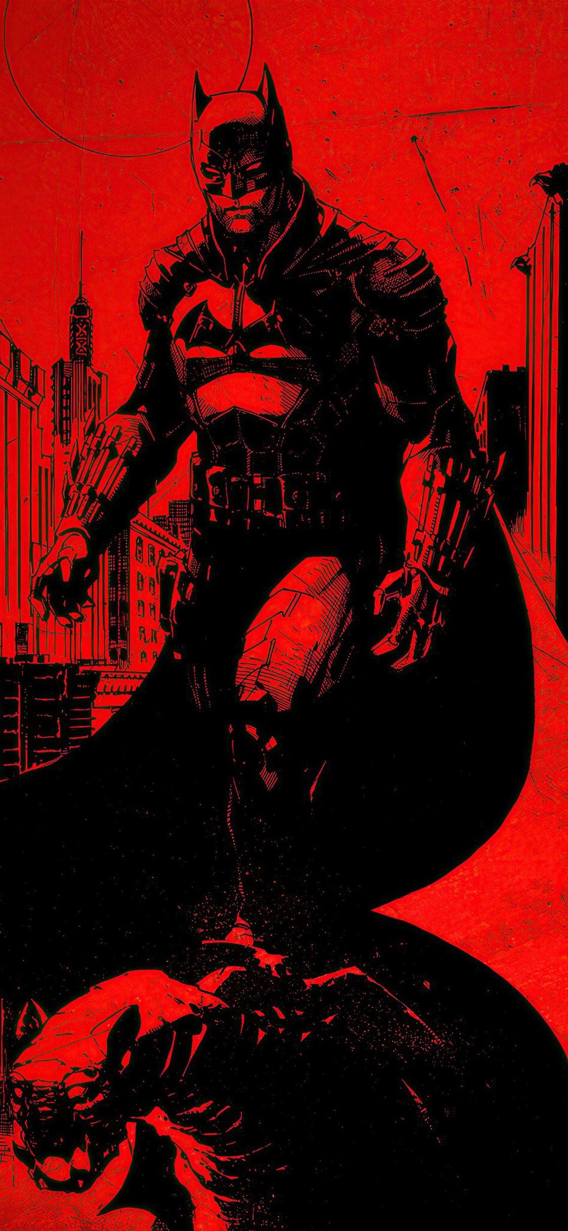 the batman 2021 4k iPhone 11 Wallpapers Free Download