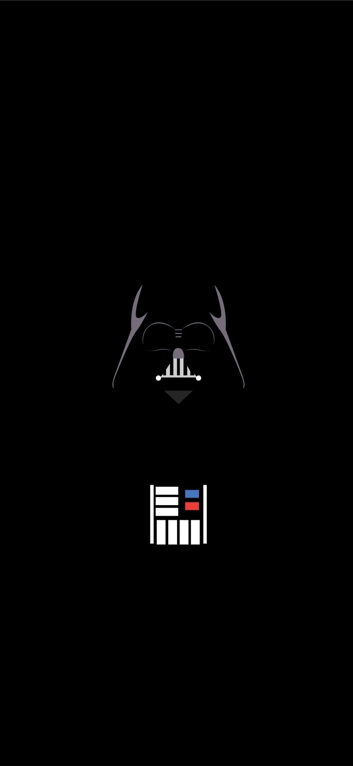 Vader Minimalist Iphone 11 Wallpapers Free Download