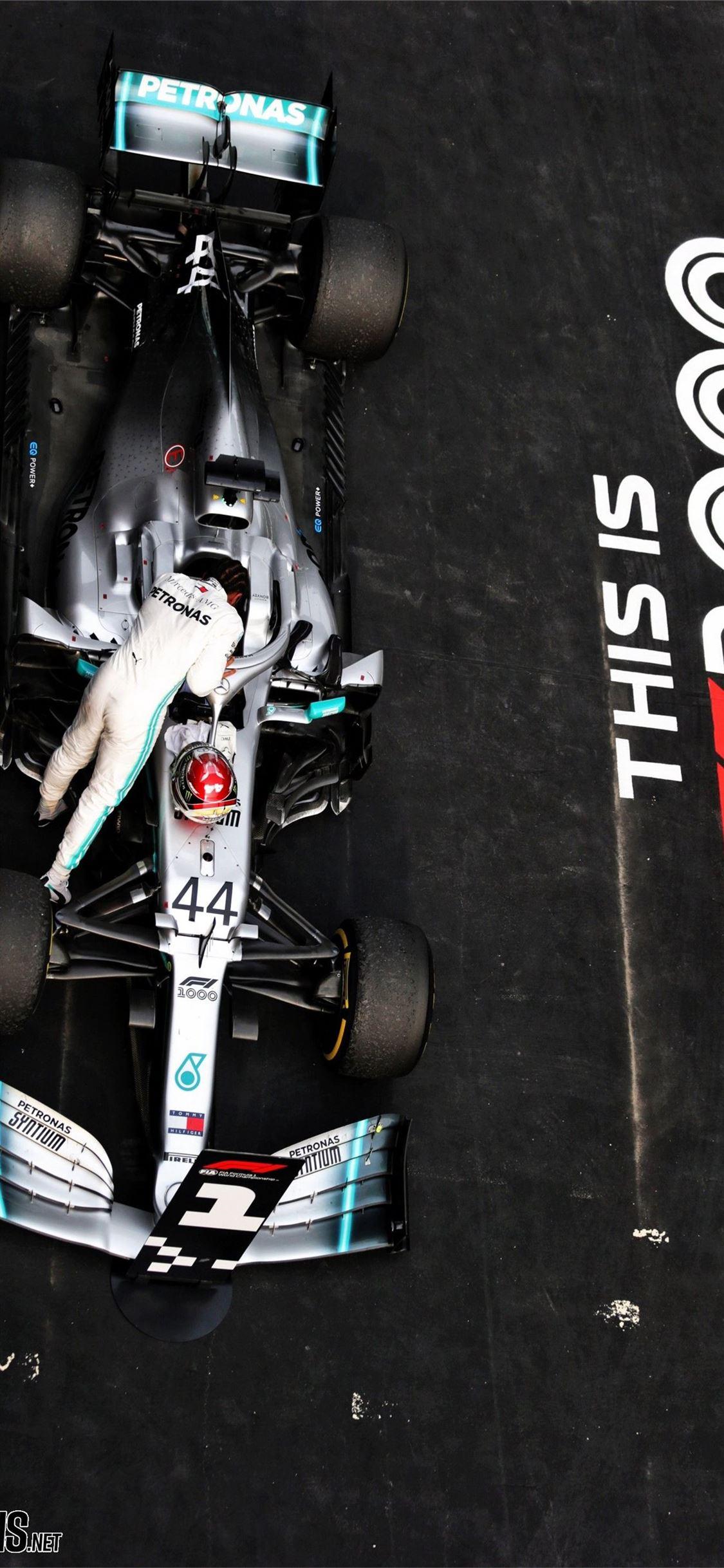 Lewis Hamilton Mercedes Shanghai International Cir ...