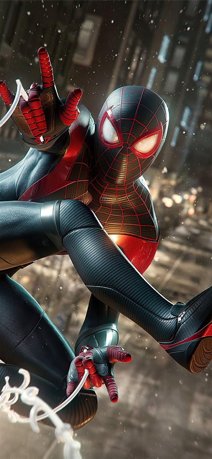 Marvels Spiderman Miles Morales 4k 2020 Iphone 11 Wallpapers Free Download Spider man miles morales logo 4k iphone x wallpaper. marvels spiderman miles morales 4k 2020