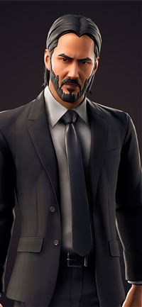 john wick fortnite 2020 4k iPhone 11 wallpaper
