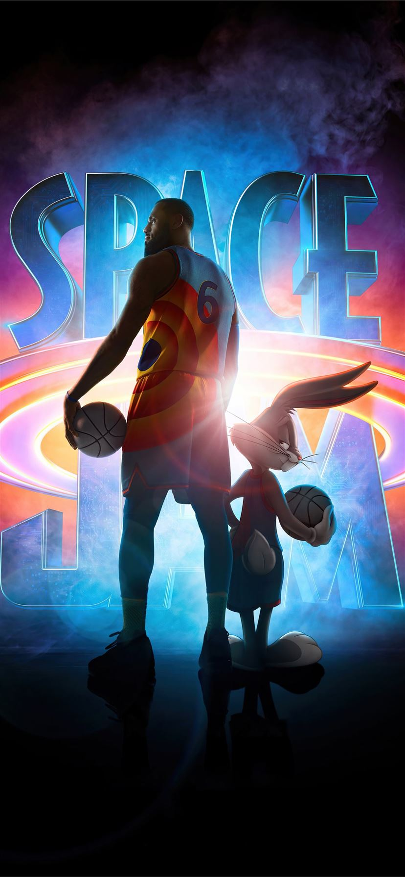 space jam a new legacy 5k iPhone 11 wallpaper