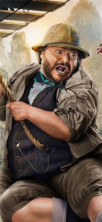 jack black in jumanji the next level 2019 iPhone 11 wallpaper