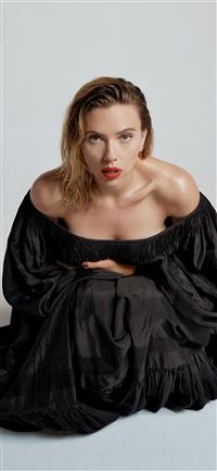 scarlett johansson vanity fair 2020 iPhone 11 wallpaper