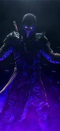 noob saibot mortal kombat 11 iPhone 11 wallpaper