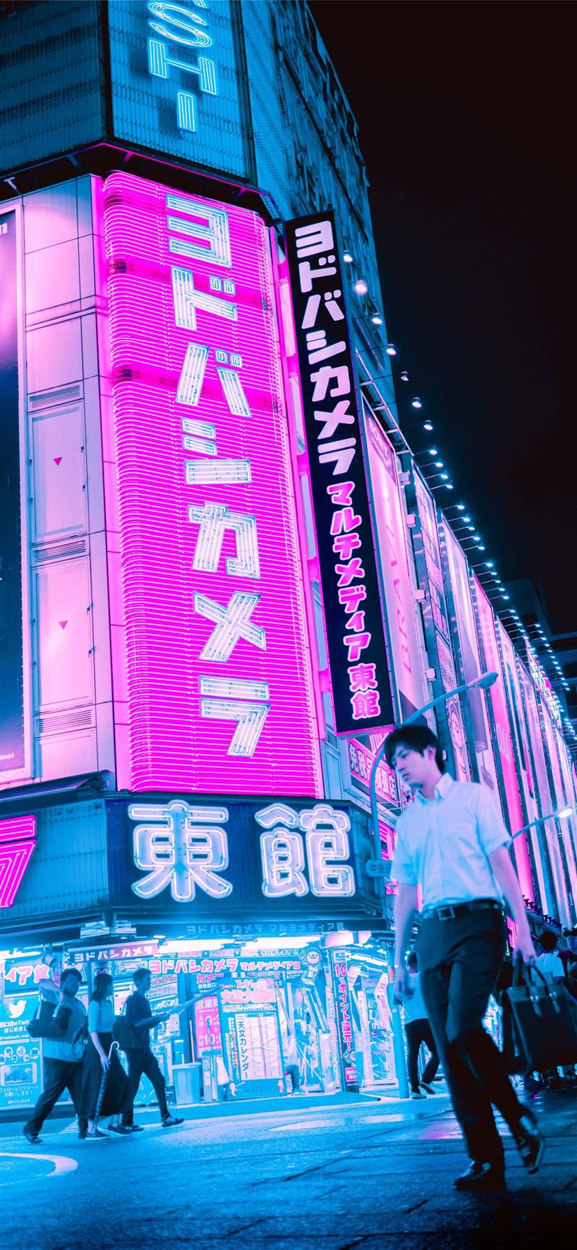 Tokyo Iphone X Wallpapers Free Download