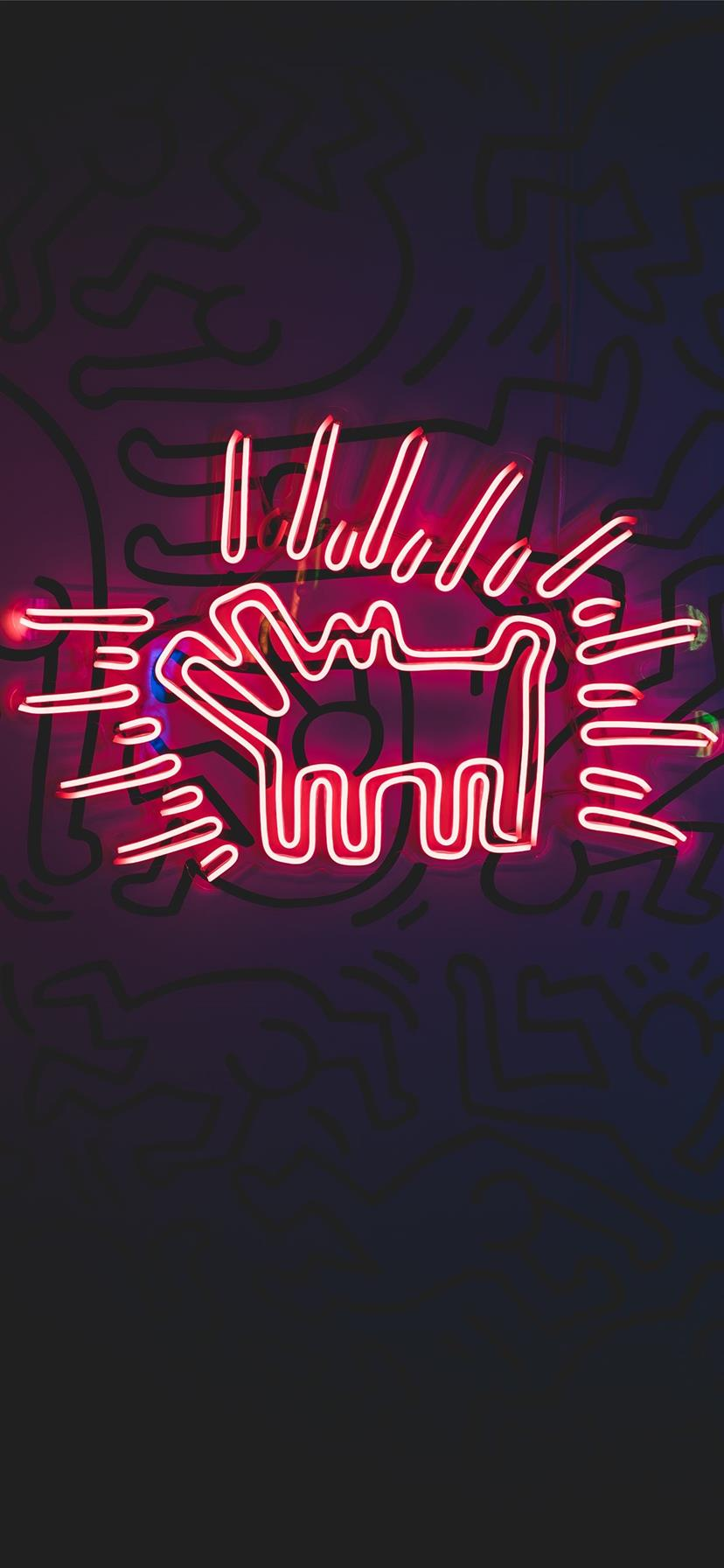Black And Red Budweiser Neon Signage Iphone Wallpapers Free