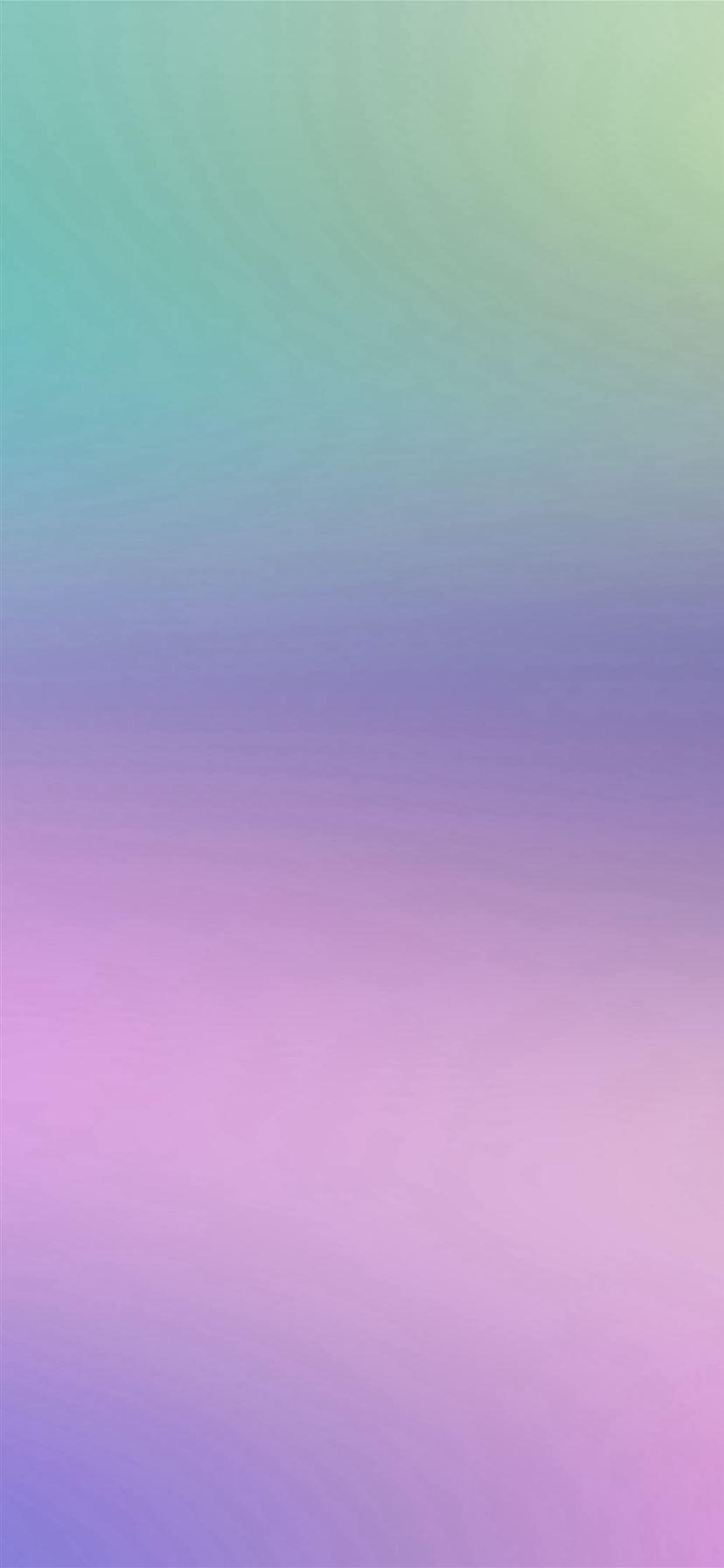 Blue And Purple Blur Gradation Background iPhone 11