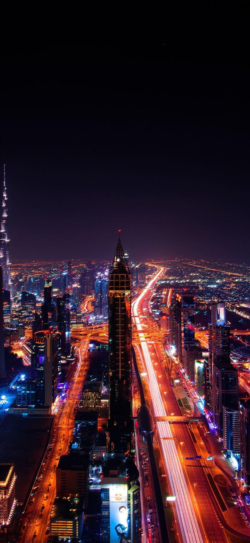 City night light car dark iPhone 11 Wallpapers Free Download