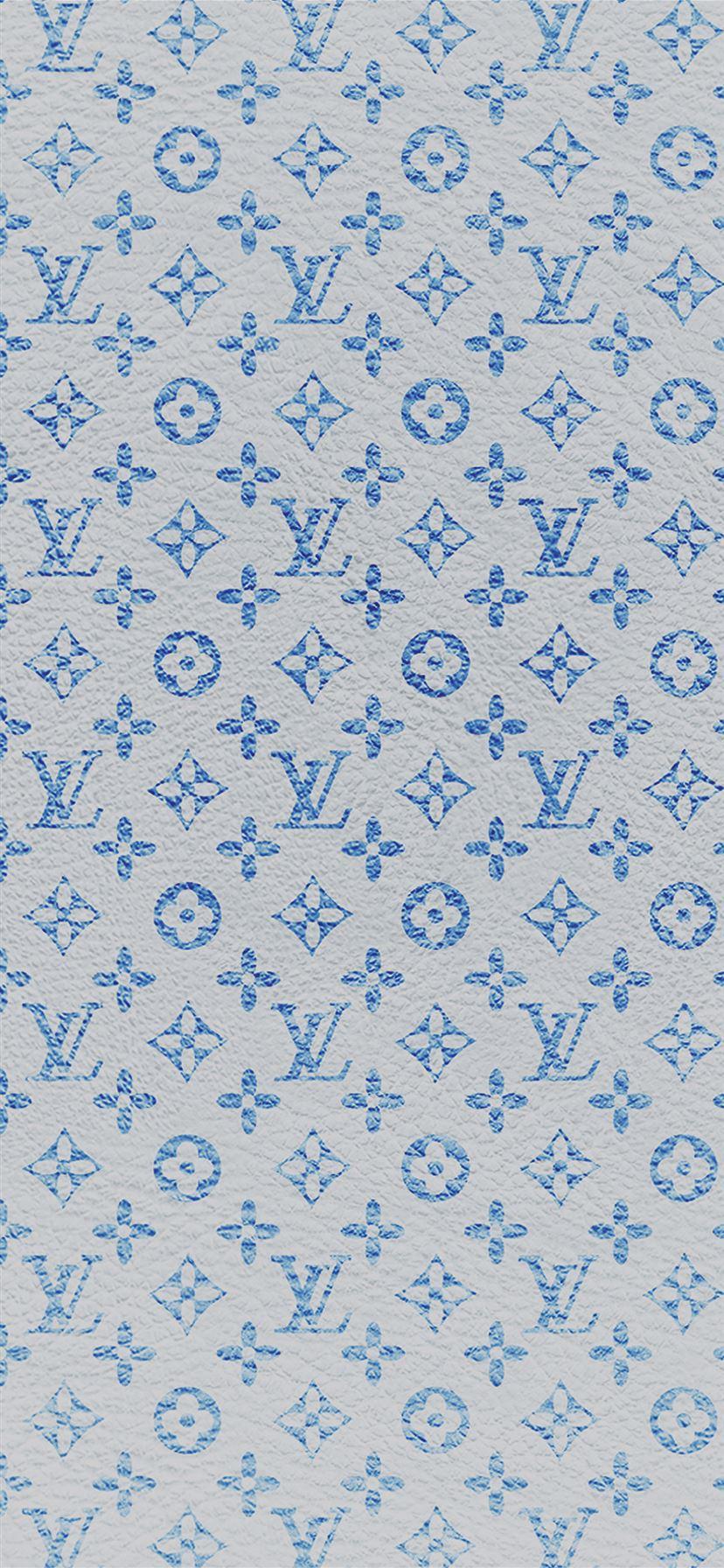 Louis Vuitton Blue Pattern Art Iphone 11 Wallpapers Free