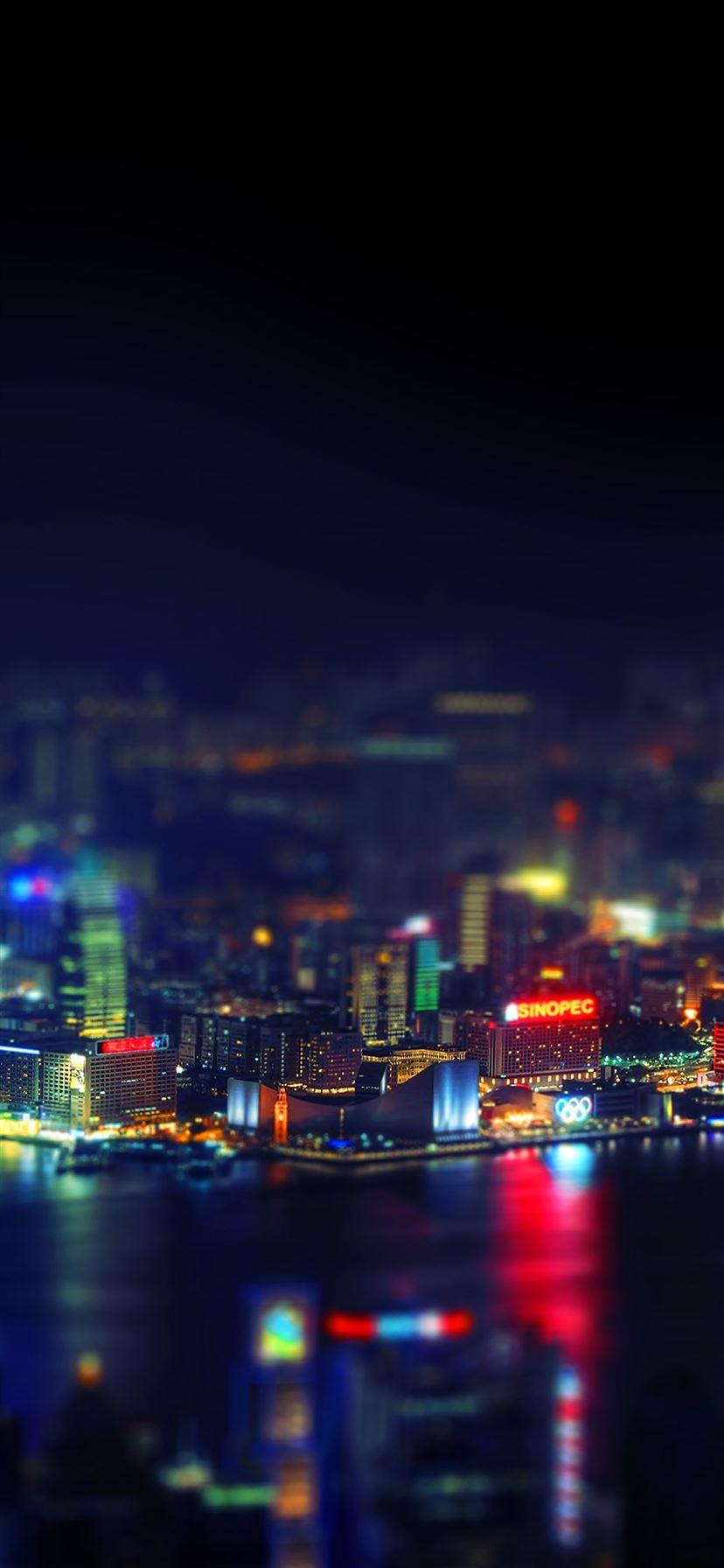 Hongkong City Night Iphone 11 Wallpapers Free Download