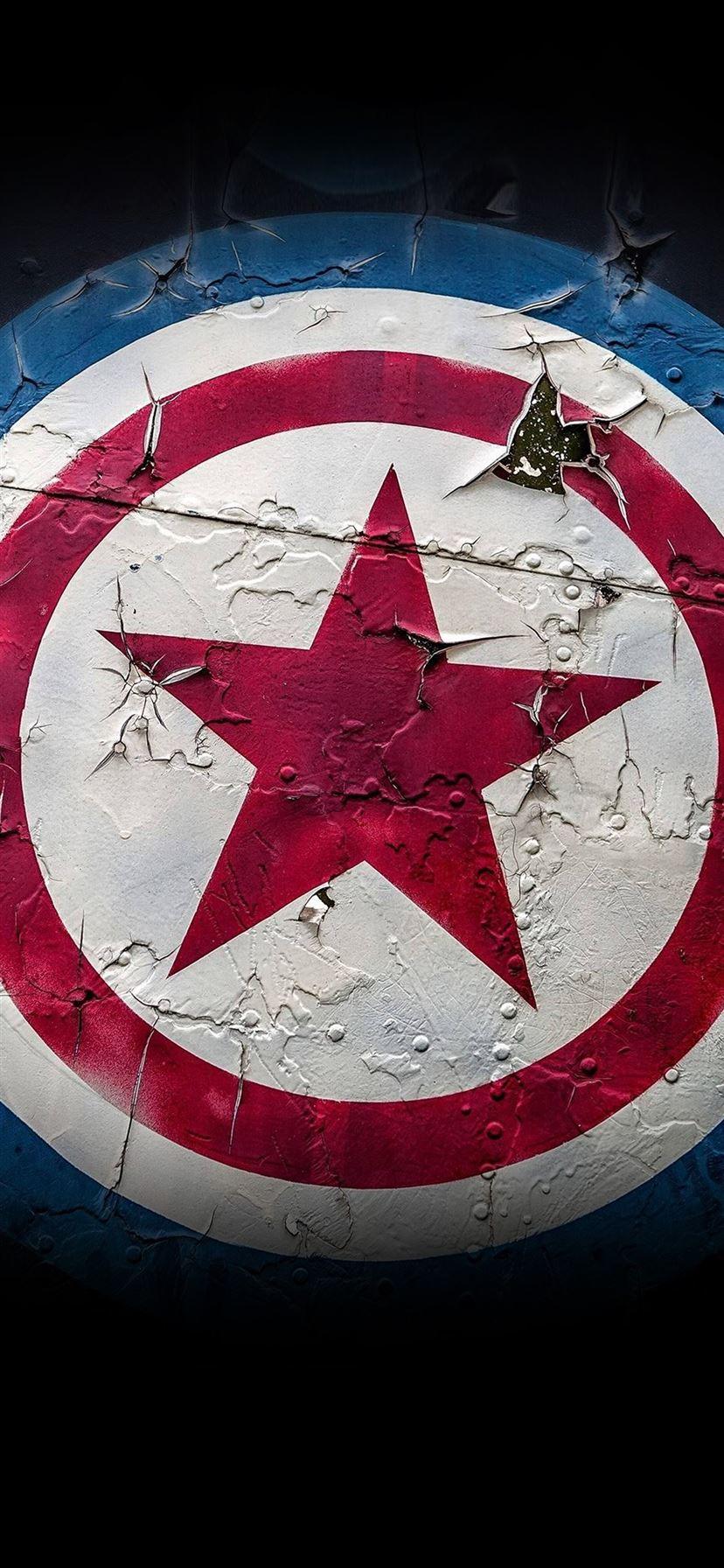 Captain America Marvel Hero Iphone 11 Wallpapers Free Download