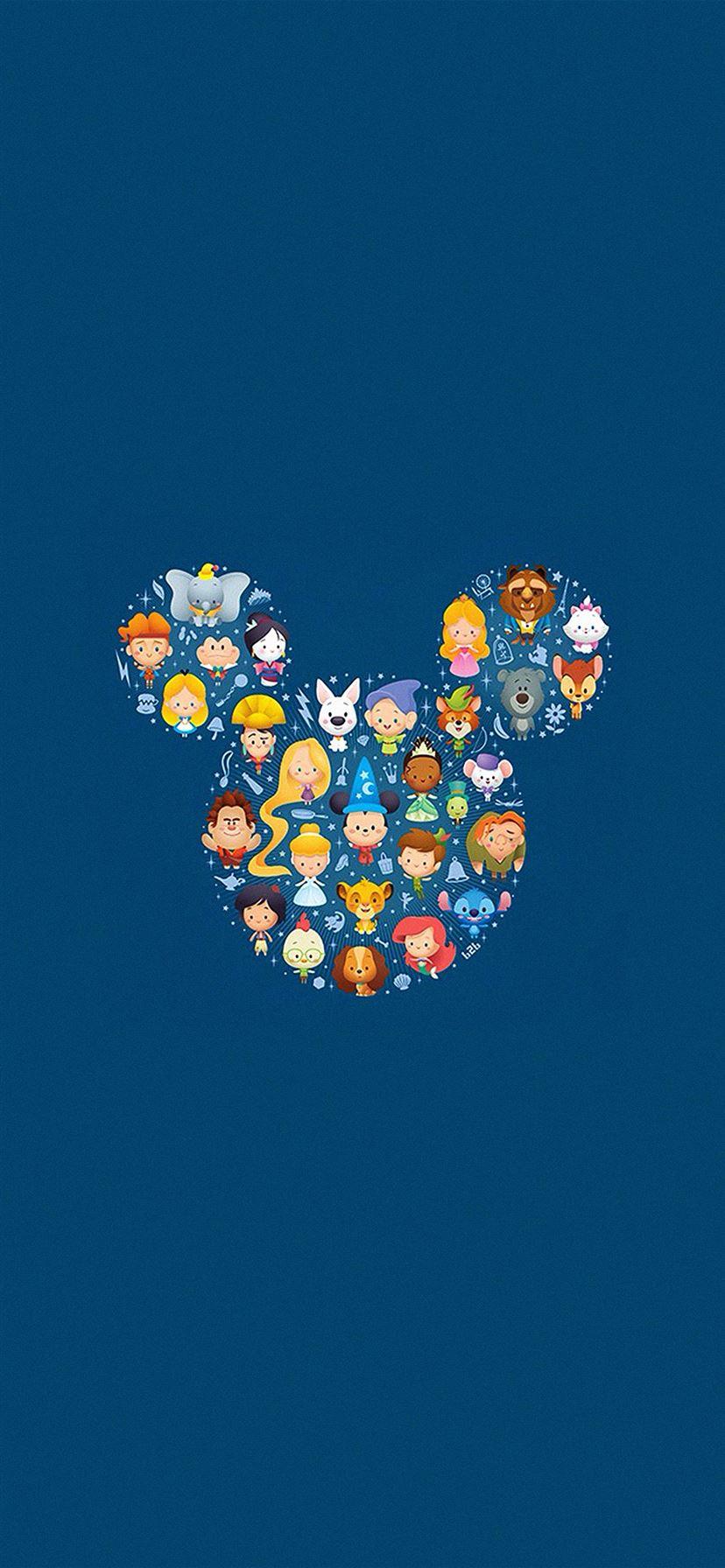 Disney Art Character Cute Iphone 11 Wallpapers Free Download