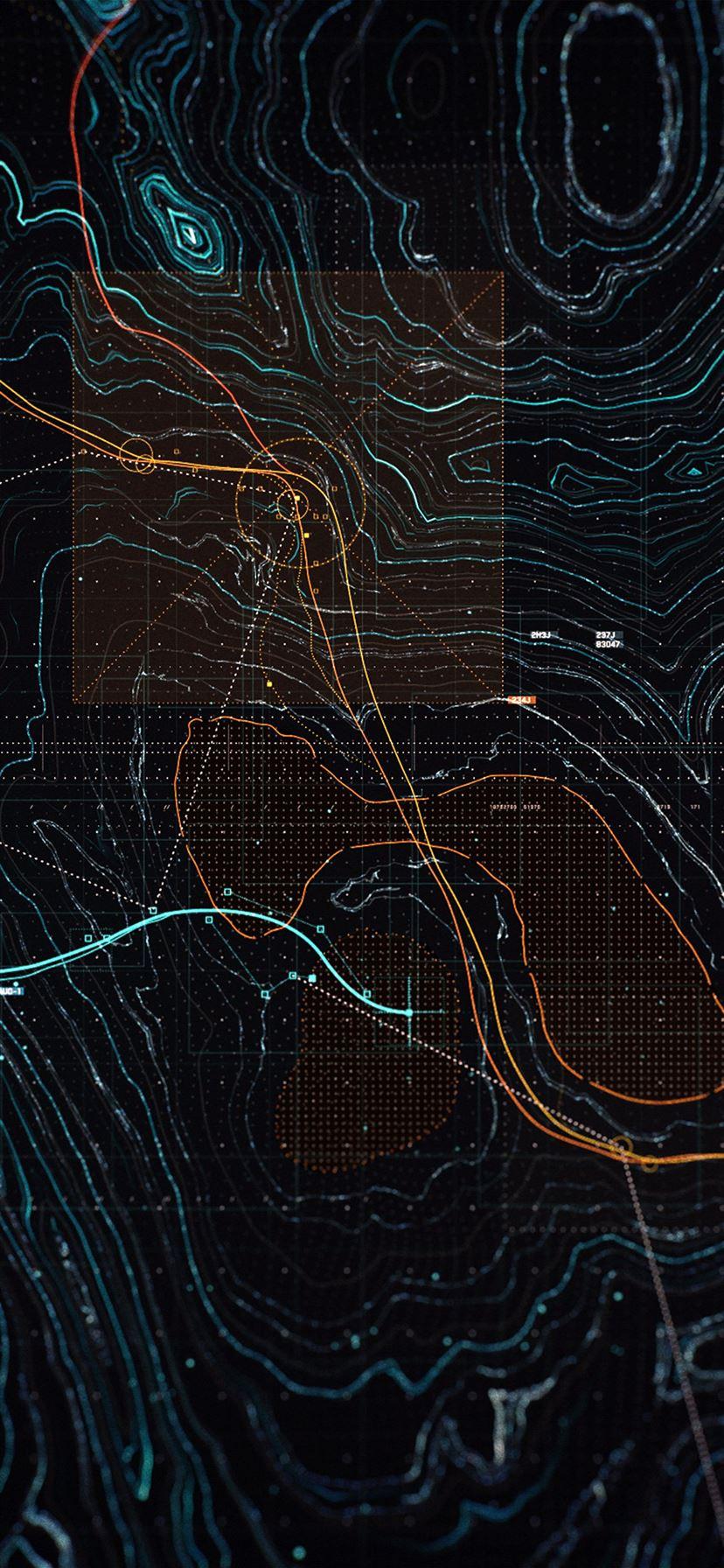 Digital Art Dark Game Pattern Background Iphone 11