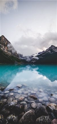 Banff  Canada iPhone 11 wallpaper