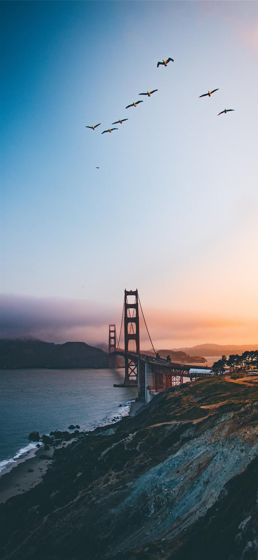 Golden Gate Bridge United States Iphone 11 Wallpapers Free