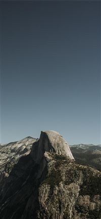 Glacier Point  Yosemite Valley  United States iPhone 11 wallpaper