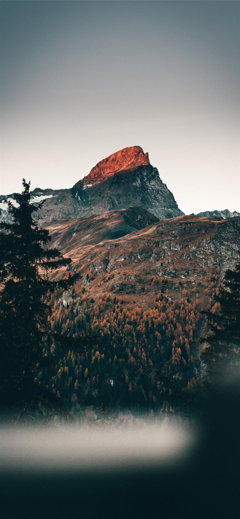 Cold Mornings In The Mountains Iphone 11 Wallpapers Free Download