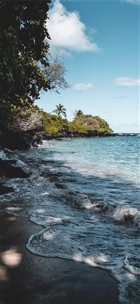 Tropical afternoon in beautiful Maui  Hawaii iPhone 11 wallpaper