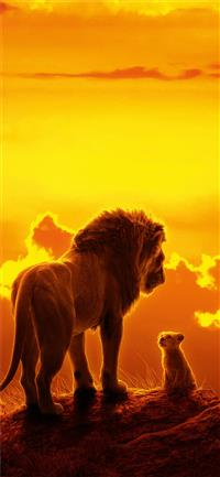 the lion king movie 8k iPhone 11 wallpaper