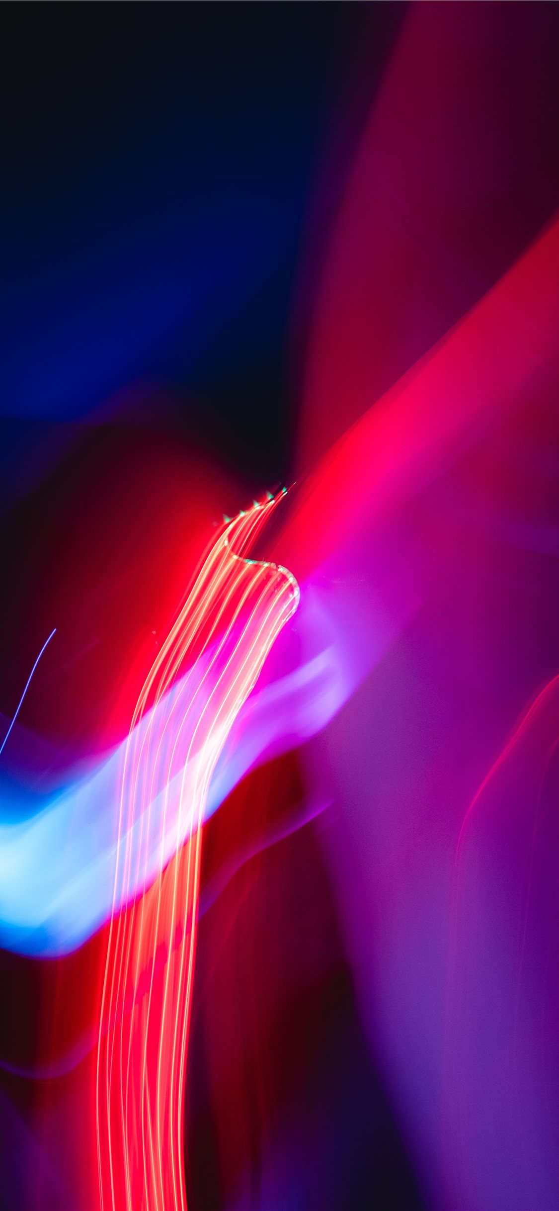 Turned On Red And Blue Lights Iphone 11 Wallpapers Free Download