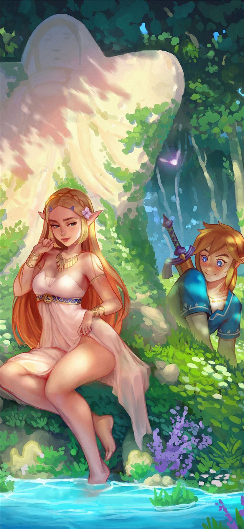 The Legend Of Zelda Video Game 4k Iphone 11 Wallpapers Free Download