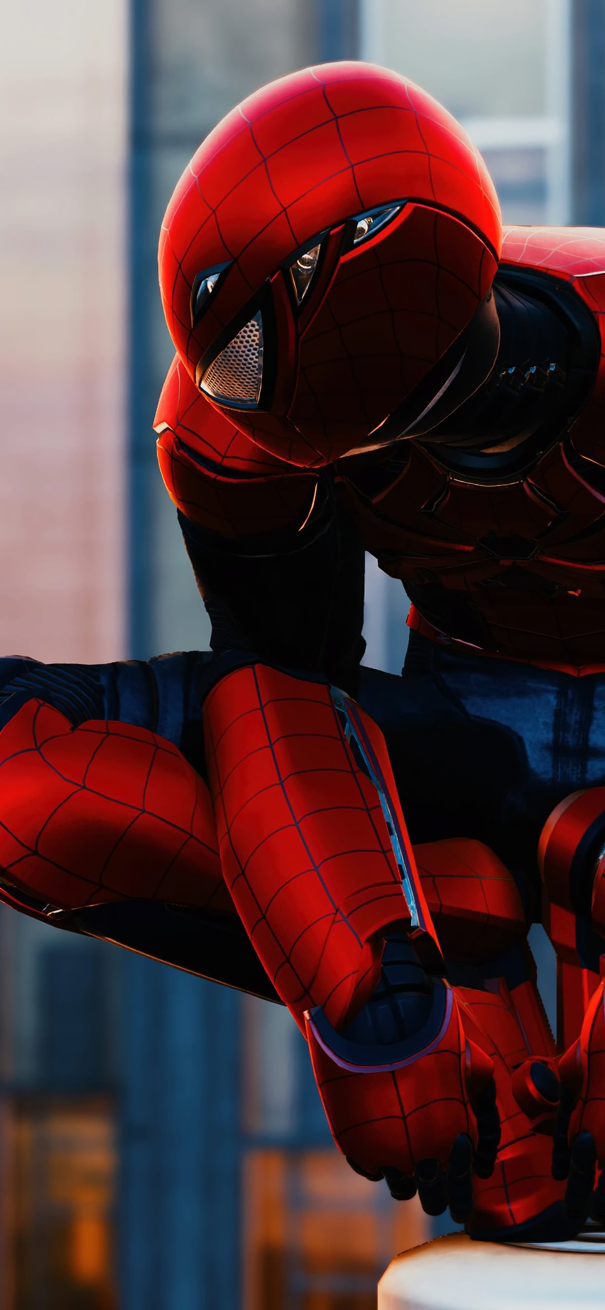 Marvel Spiderman Ps4 Game 4k Iphone Wallpapers Free Download