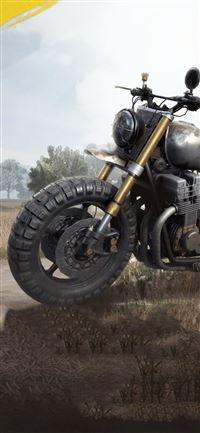 pubg bike 4k iPhone 11 wallpaper