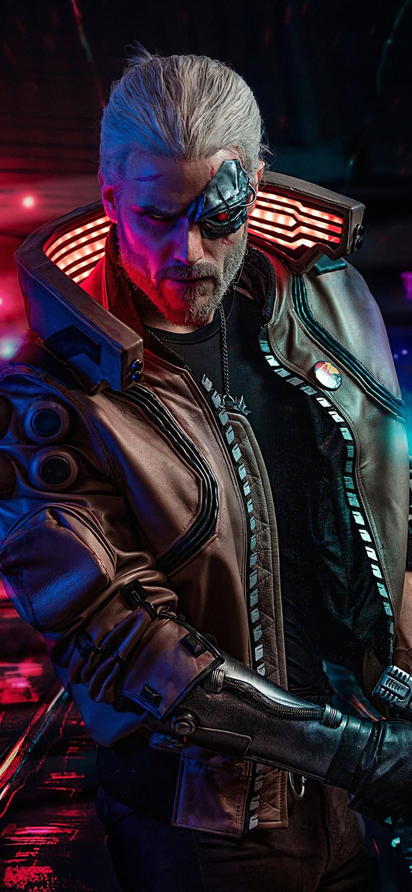 cyberpunk 2077 witcher iPhone 11 Wallpapers Free Download