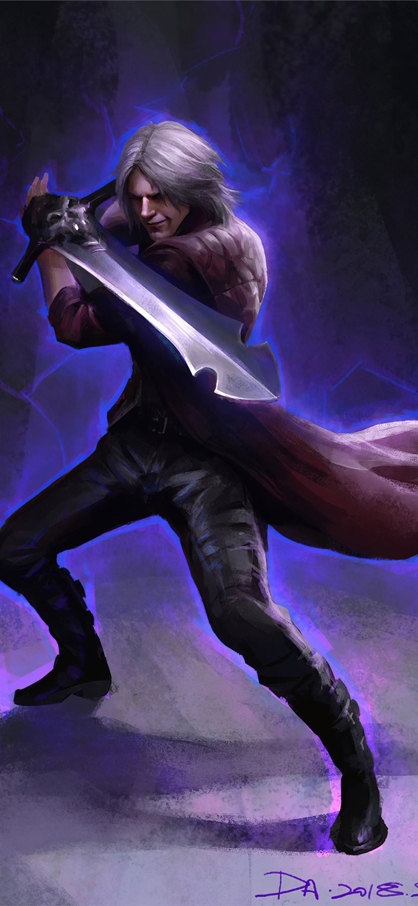 Dante Devil May Cry 5 4k Iphone 11 Wallpapers Free Download