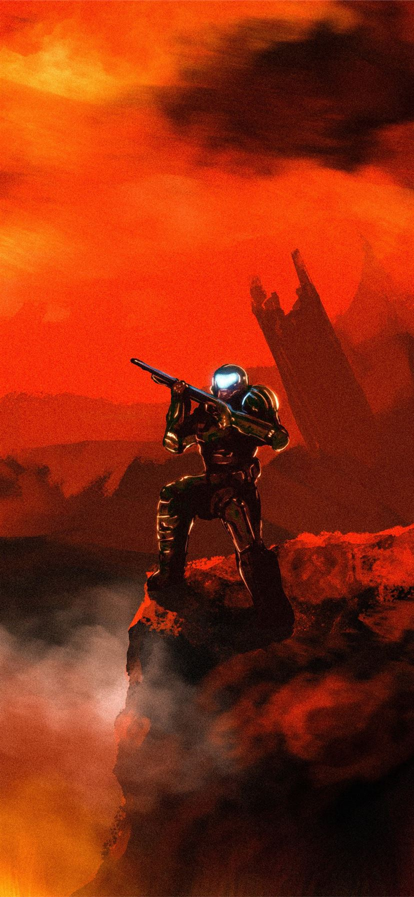 Doom Doom Slayer 4k Iphone 11 Wallpapers Free Download