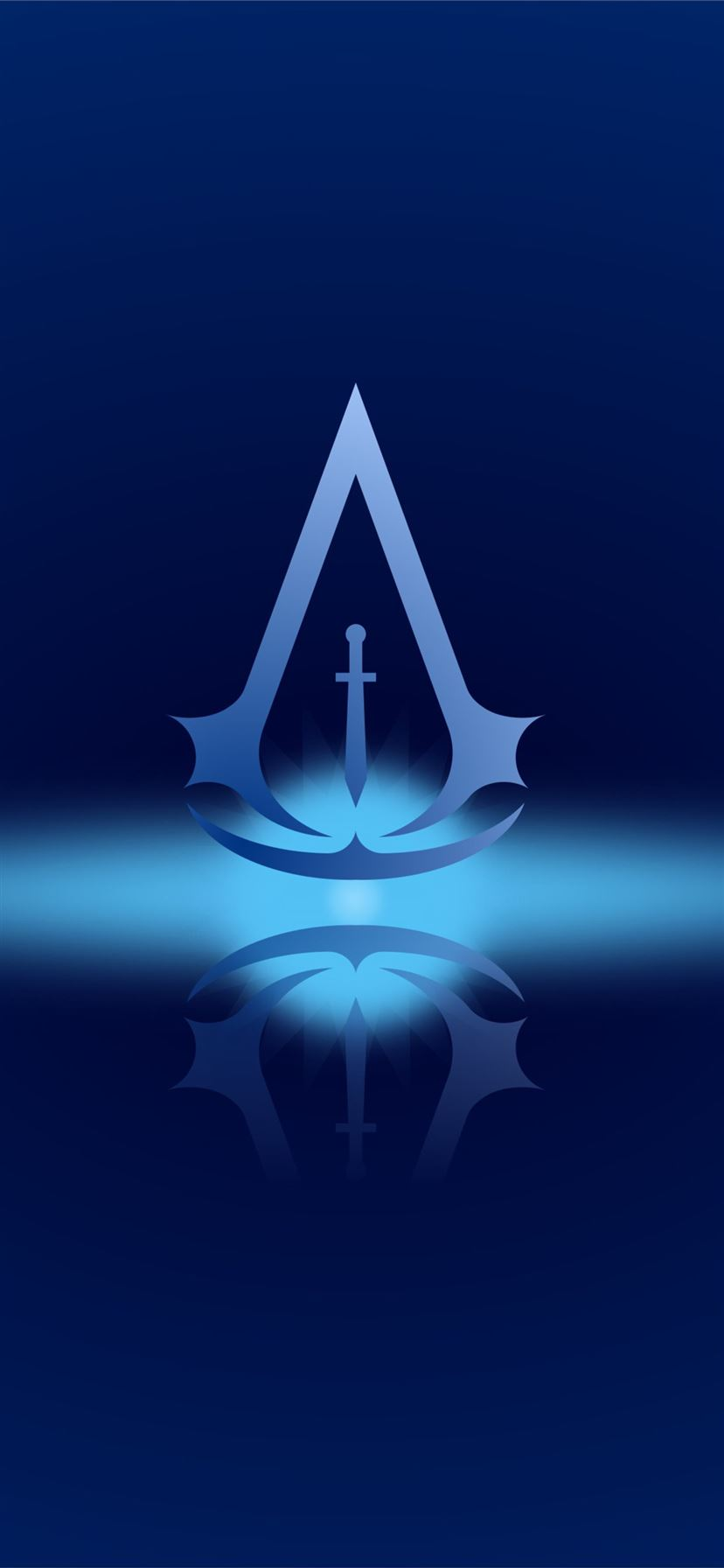 Assassins Creed 4k Minimal Logo Iphone 11 Wallpapers Free Download