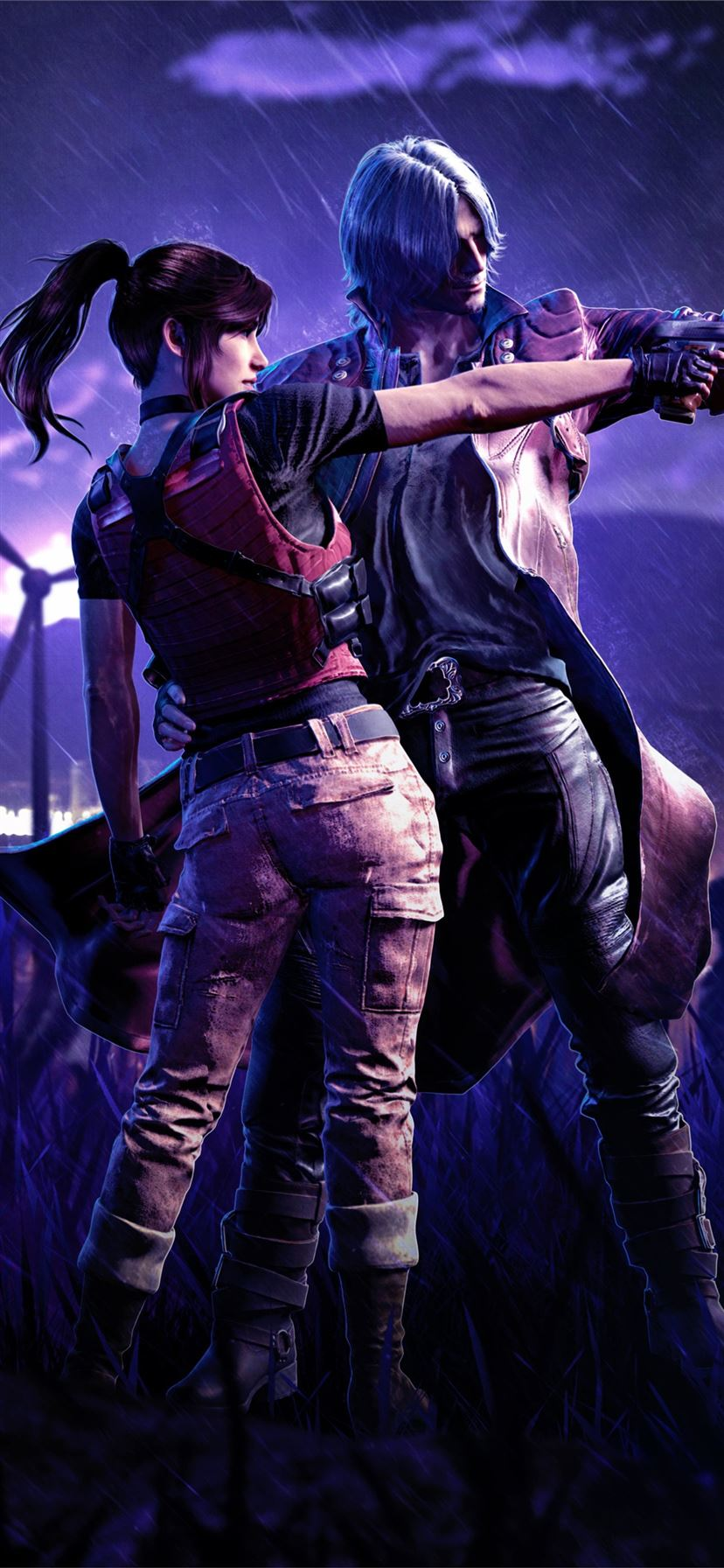 Resident Evil Devil May Cry 5 5k Iphone 11 Wallpapers Free Download