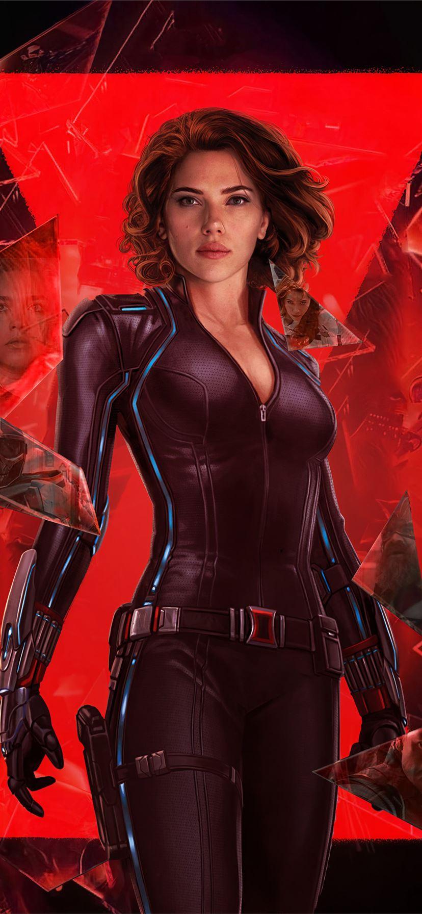 Black Widow 2020 Movie Artwork 4k Iphone 11 Wallpapers Free Download