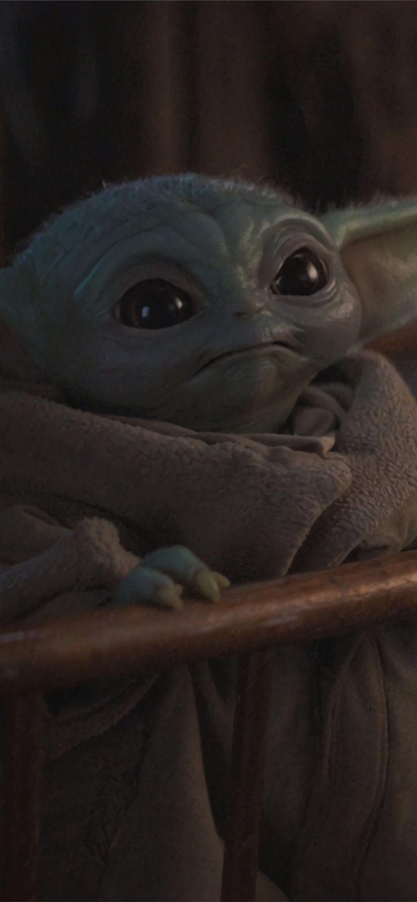 Cute Baby Yoda from Mandalorian Resolution iPhone ...