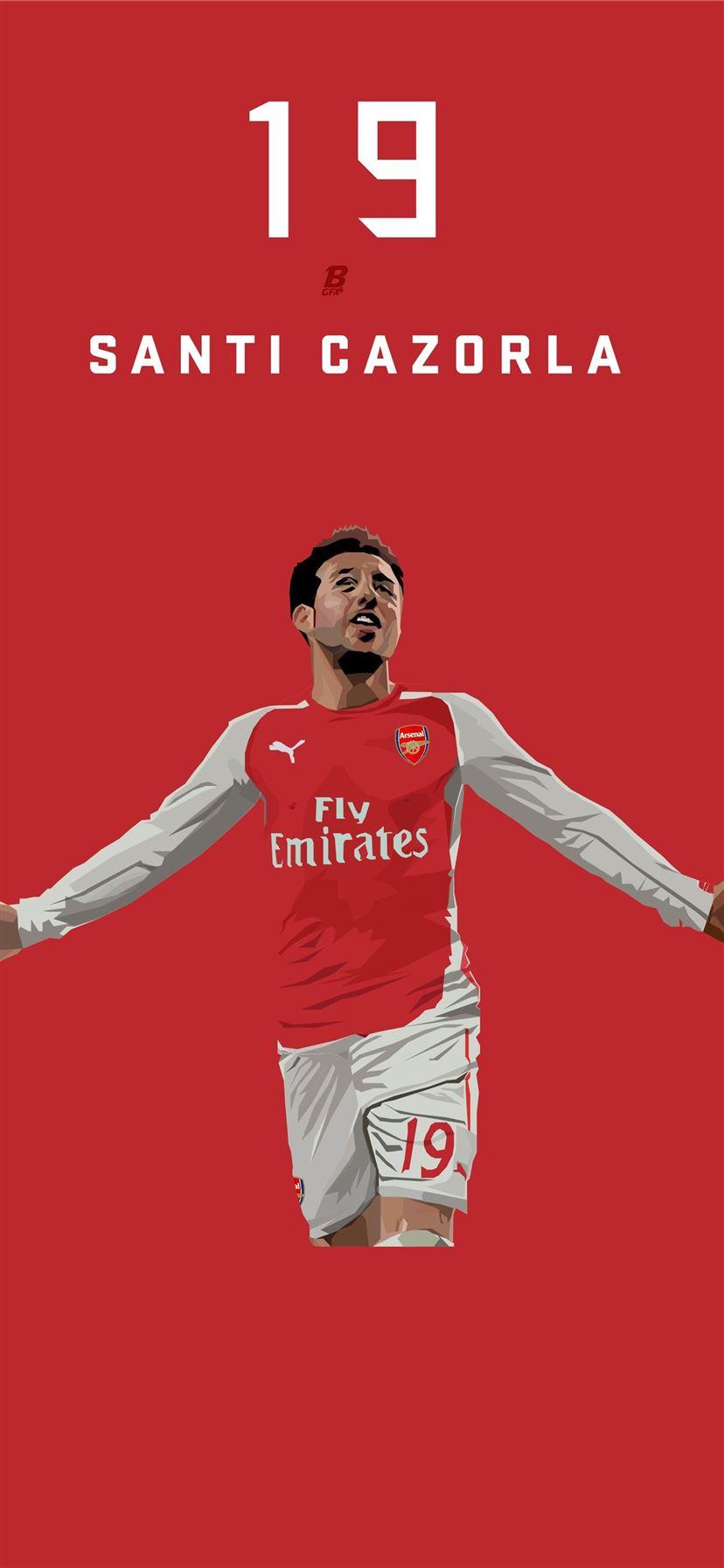 Santi Cazorla 3 Arsenal Iphone 11 Wallpapers Free Download